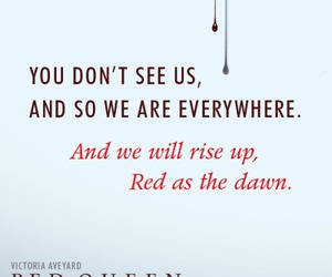red queen, book, and victoria aveyard image