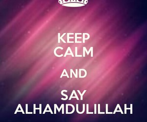 islam, keep calm, and muslim image