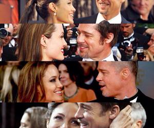 Angelina Jolie, beauty, and couple image