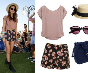 outfit, summer, and festival image