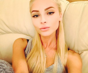 beauty, alena shishkova, and blonde image