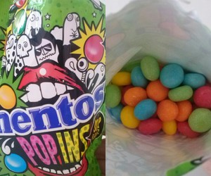 mentos, rainbow, and sweets image
