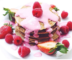 berries, delicious, and food image