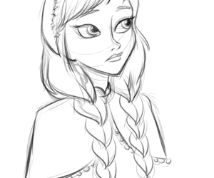 frozen, disney, and drawings image