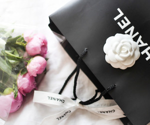 chanel and roses image