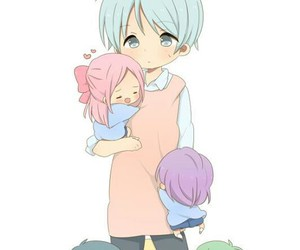 anime, kuroko, and momoi image