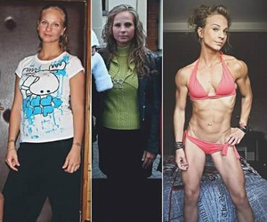 athletic, before after, and fit image