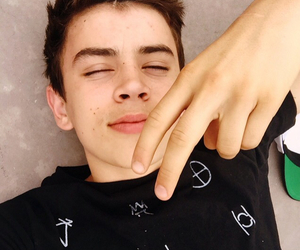 hayes grier, grier, and magcon image