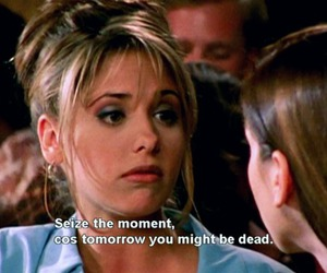 quote, buffy, and buffy the vampire slayer image