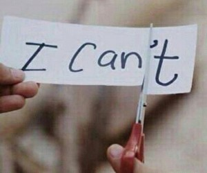 can, motivation, and can't image