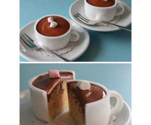 cake, desserts, and sweet image