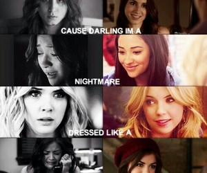 pll, pretty little liars, and blank space image