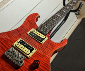 guitar, prs, and music image