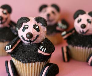 cupcake, panda, and oreo image