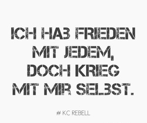 peace, frieden, and kc rebell image