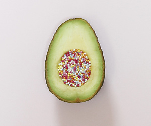 avocado, colours, and girl image