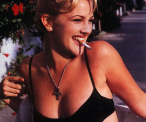 drew barrymore, 90s, and blonde image