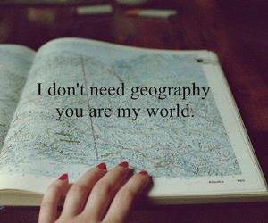 geography, life, and My World image