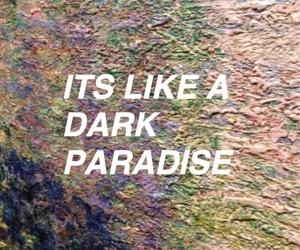 dark, glow, and grunge image