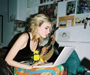 girl, grunge, and 90s image