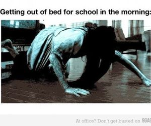 funny, morning, and school image