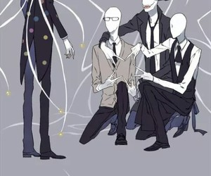 creepypasta, slenderman, and trenderman image
