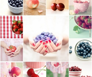 berries, delicious, and eat image
