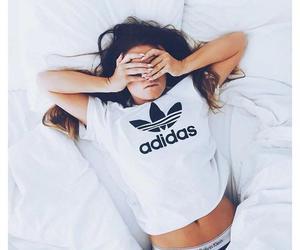 adidas, girl, and Calvin Klein image