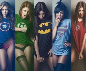girl, batman, and sexy image