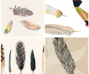drawing, fun, and feather image
