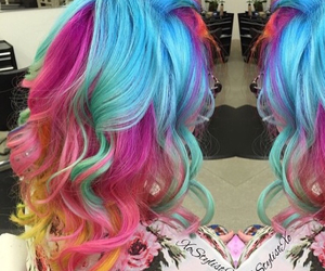 style, love, and hair color amazing omg image