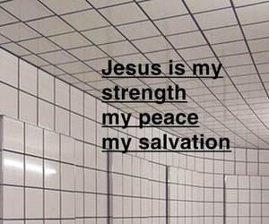 god, jesus, and peace image