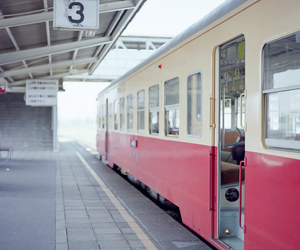 japan, photography, and train image