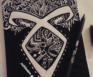 shadowhunters, drawing, and runes image