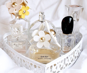 perfume, daisy, and girly image