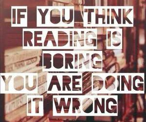 books, reading, and quote image