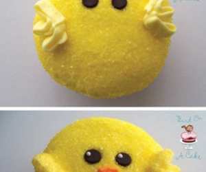 cupcake, easter, and Chick image