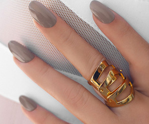 grey, nail lacquer, and neutral image