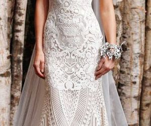 fashion, lace, and mermaid image