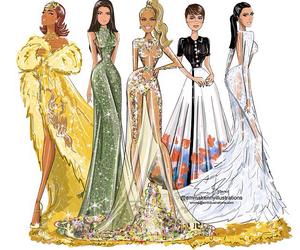 kim kardashian, rihanna, and lily collins image