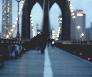 light, bridge, and city image