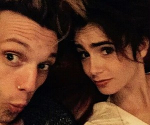 lily collins, Jamie Campbell Bower, and jamily image