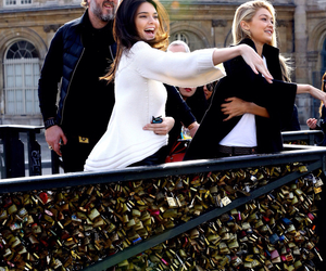 paris, kendall jenner, and gigi hadid image
