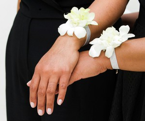corsage, dendrobium, and orchid image