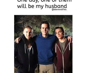 teen wolf, dylan sprayberry, and dylan o'brien image