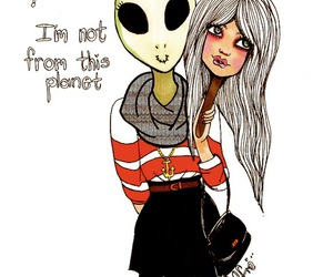 girl, alien, and valfre image