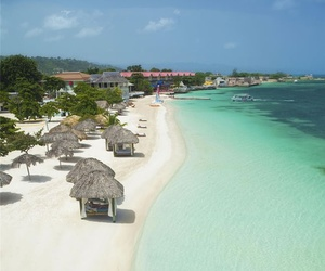 beach, jamaica, and summer image