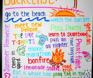 summer, beach, and bucket list image