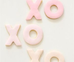xoxo, pink, and pastel image