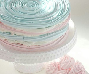 cake, food, and pastel image